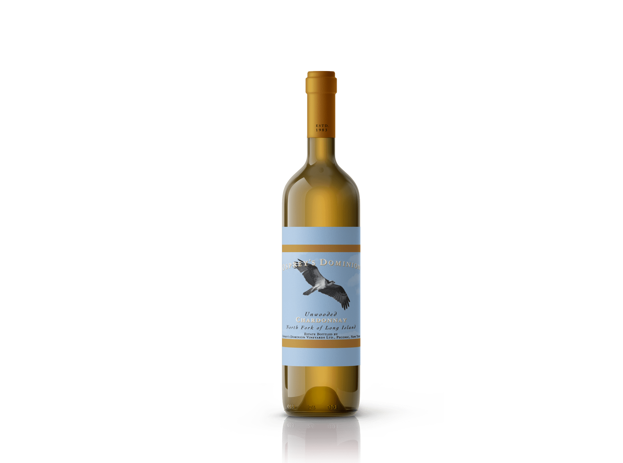 Unwooded Chardonnay wine