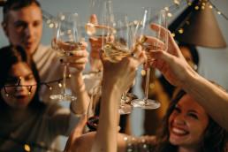 wine glass celebration